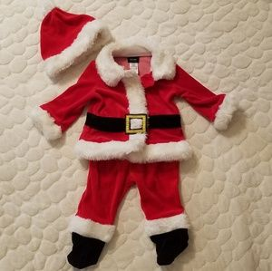 Other - Christmas baby Santa costume 6-9m